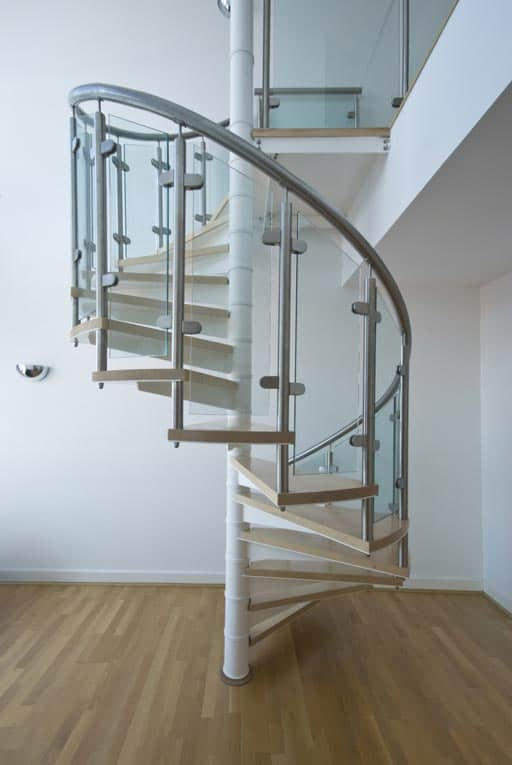 How to buy or build stairs hometips for Pre made spiral staircase